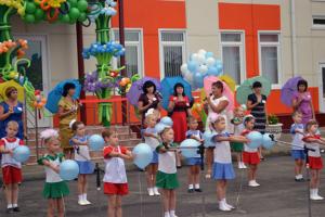Праздник открытия Детского сада МАДОУ ДОВС №40 ст. Стародеревянковская
