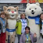 Наши на Олимпиаде!
